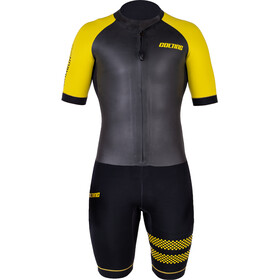 Colting Wetsuits Swimrun Go Traje Triatlón Hombre, black/yellow